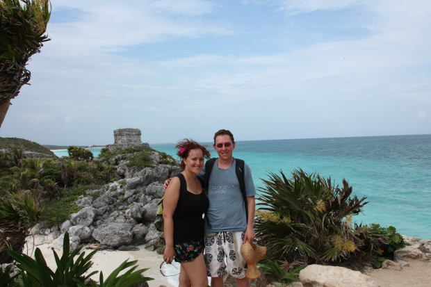 The gorgeous Tulum ruins