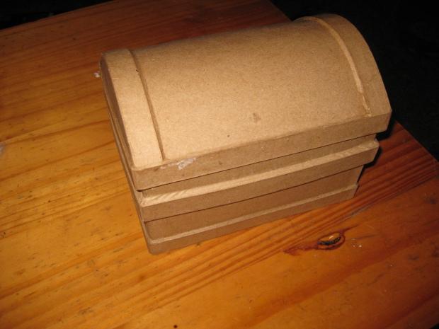 Papier mache box