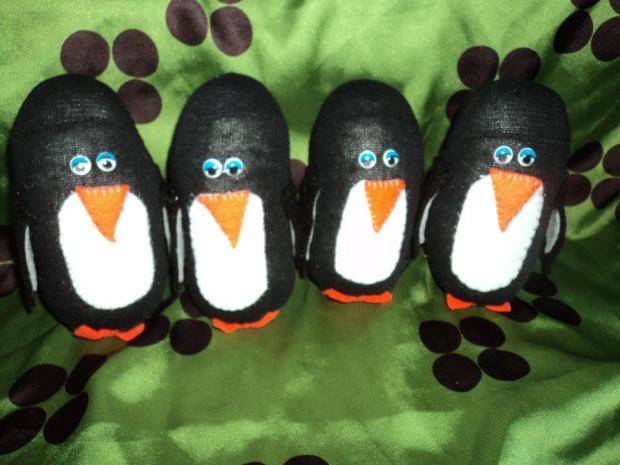 Baby Sock Penguins