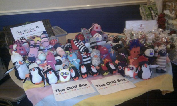 Our stall at Sunday's Craft Fair at The Briarcroft Hotel, Goole