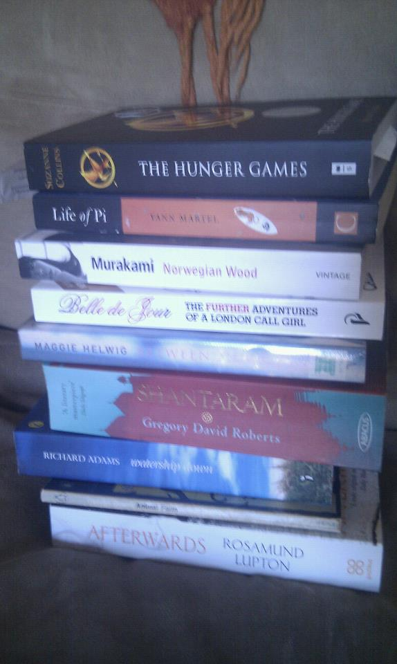 My current 'to read' pile