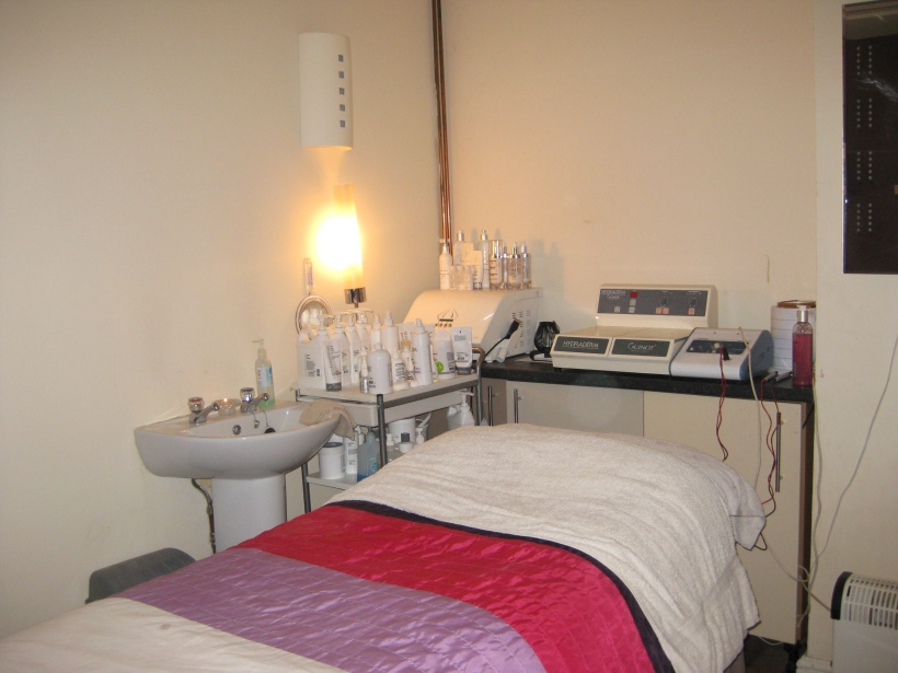 The Relaxation Den treatment room