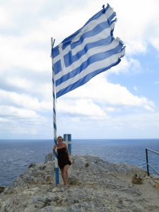 Exploring Skiathos, 2012.