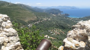 The view from Ali Pasha Castle - it was a trek and a half to reach the summit but completely worth it! - Parga, Mainland Greece, 2013.